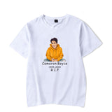 Cameron Boyce Short Sleeves Shirt Casual Cotton T-Shirt Unisex