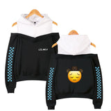 Lil Nas X Sex Off Shoulder Polyester Hooded Sweatshirt Hip Hop Hoodies
