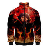 Rapper Lil Nas X Flattering Zipper Jacket Hoodies For Boys & Girl