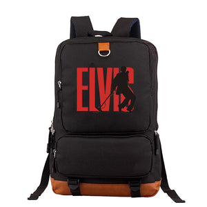 Elvis Presley Big Capacity Sachool Backpack Travel Backpack