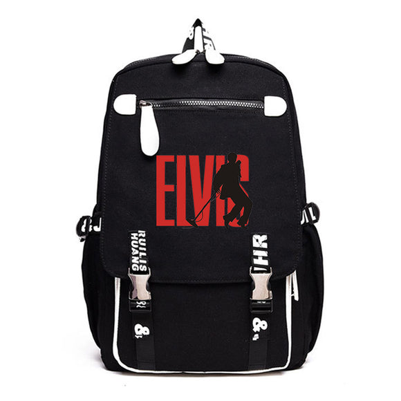 Elvis Presley Fashion Backpack Computer Bag