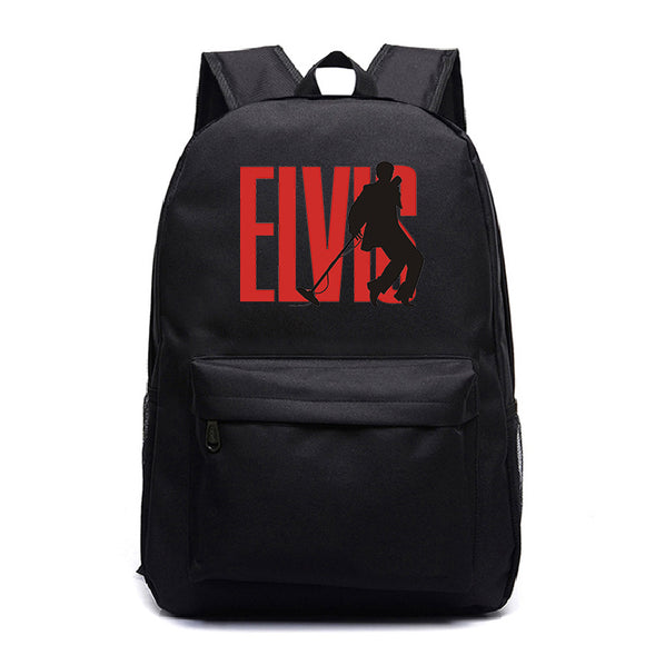 Elvis Presley Youth Teens Fashion Backpack School Backpack Book Bag