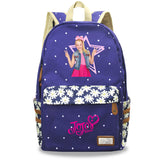 Girls Jojo Siwa Backpack Youth School bag Bookbags