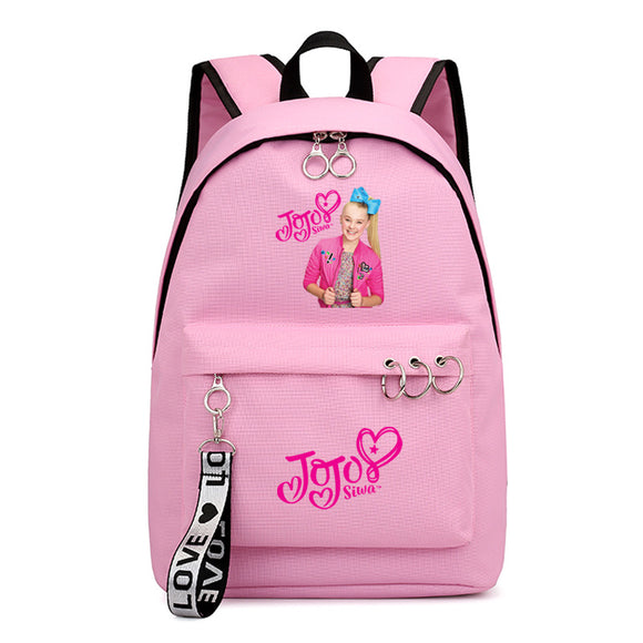 Girls Jojo Siwa Print Youth School Backpack Bookbags