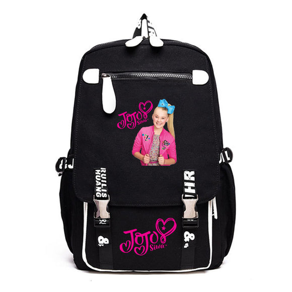 Girls Jojo Siwa School Backpack Bookbags Travel Backpack