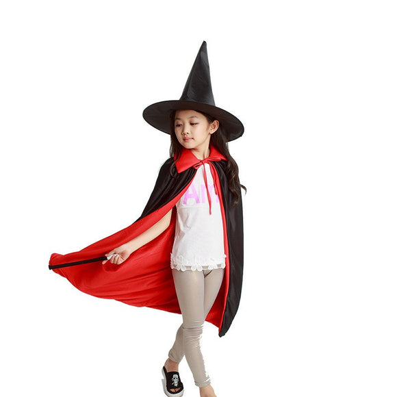 Halloween Kids Costume For Kids&Adult Magician costume For Kids&Adult