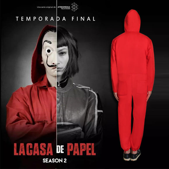 Halloween Kids Costume La Casa De Papel Salvador Dali Costumes  For Kids&Adult