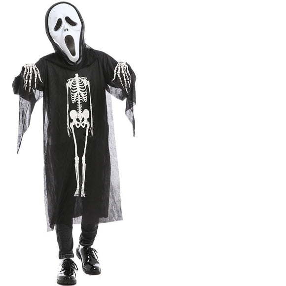Halloween Kids Costumes Horror Skeleton Costume