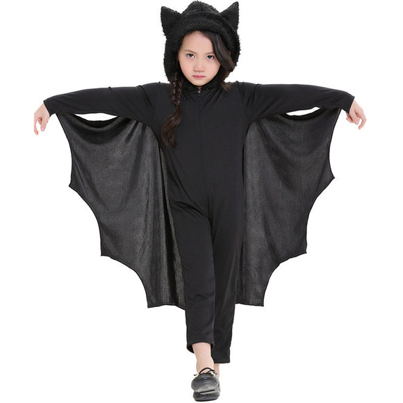 Halloween Kids Costume Bat Jumpsuit For Kids