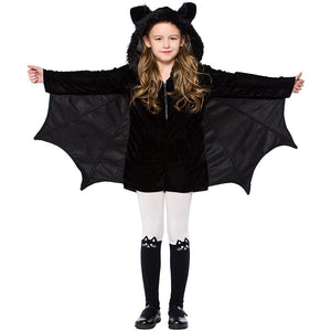 Halloween Kids Costumes Bat Cosplay Costumes For Girls