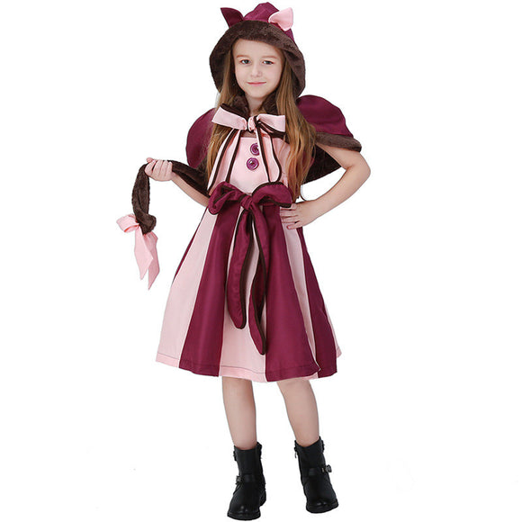 Halloween Kids Costumes Alice in Wonderland Clothes For Girl