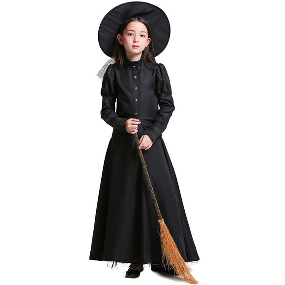 Halloween Kids Costume The Wizard of Oz Witch Cos Costume For Girls