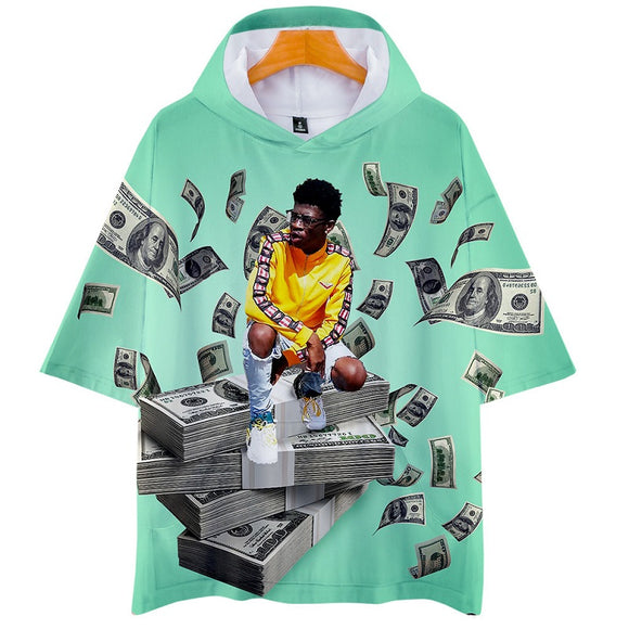 Lil Nas X Round Neck Pull Over Short Sleeve T-shirt Unisex