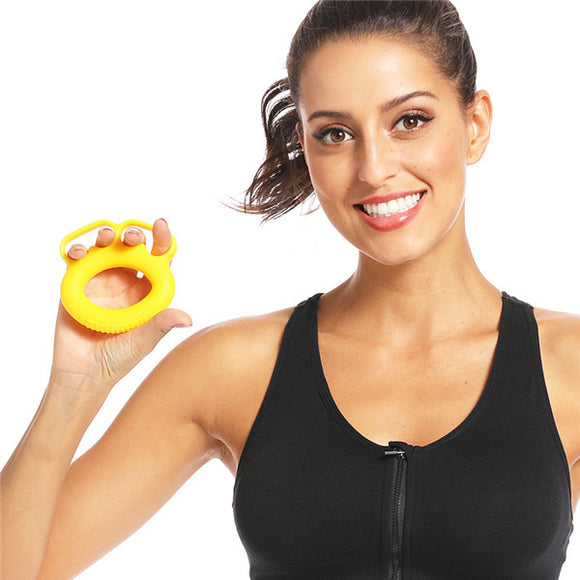 Hottest Silicone Finger Grip Ring Hand Grip Household Fitness Double Ring Grip