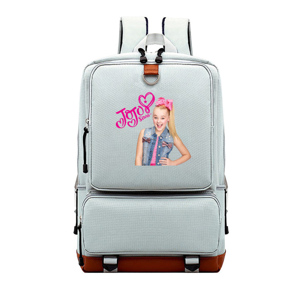 Jojo Siwa Printed Youth School Backpack Bookbags