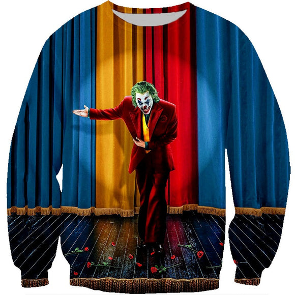 Hot Fashion Joker Movie 2019 Pull Over Hoodies