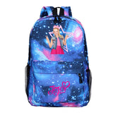 Kids Girls Jojo Siwa Backpack School Bag Bookbags