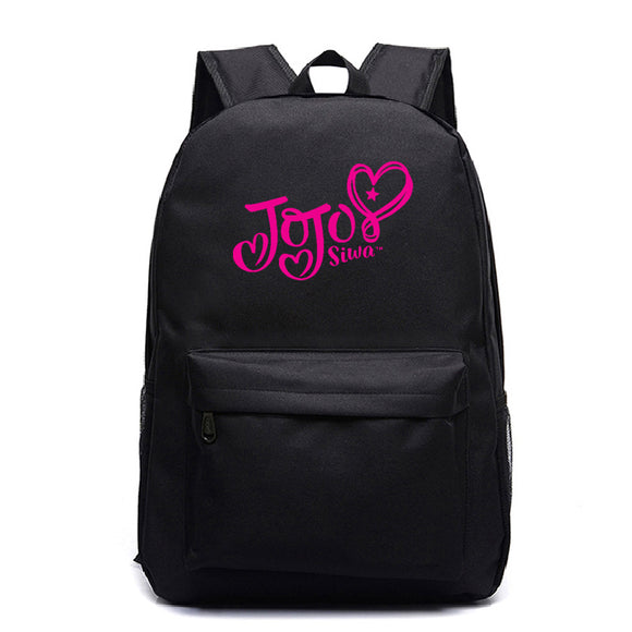 Kids Youth Jojo Siwa Printed Backpack School Bag Bookbags