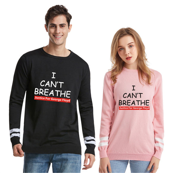 I Can't Breathe Crewneck Sweaters for Men and Women