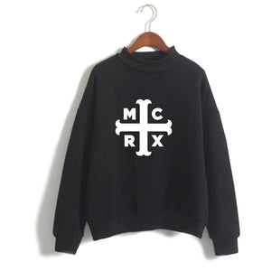 My Chemical Romance Pull Over Sweatshirts Polo neck
