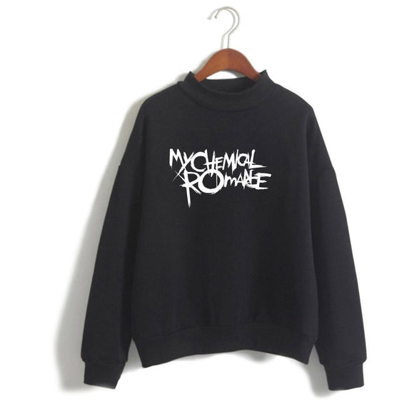 My Chemical Romance Pullover Sweatshirts Polo neck
