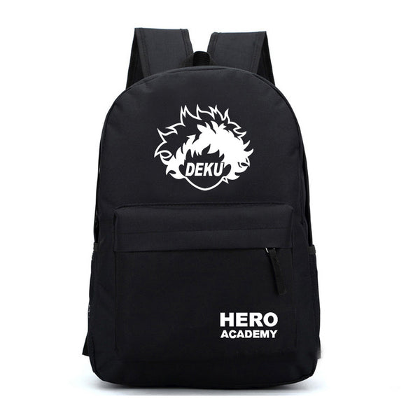 My Hero Academia Canvas Backpack Students Backpack Bookbag