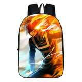 My Hero Academia Shoto Todoroki Backpack Students Backpack 3D Print Bookbag