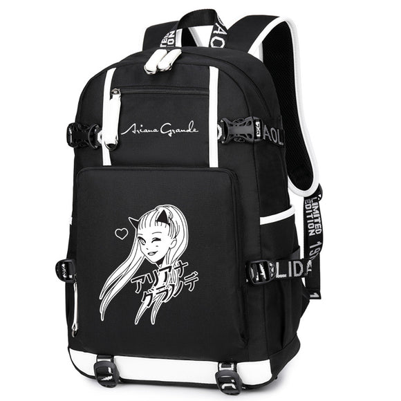 Ariana Grande Big Capacity Rucksuck Backpack for Students Youth