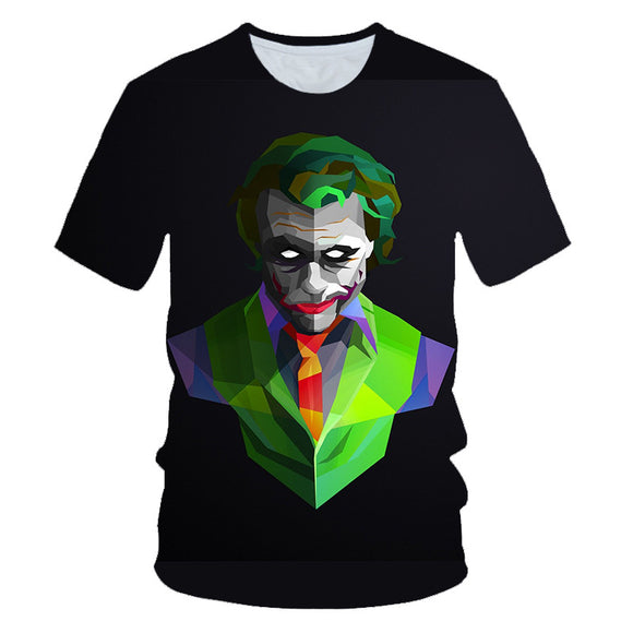 Unisex Joker Movie 2019 3D Print T-shirt