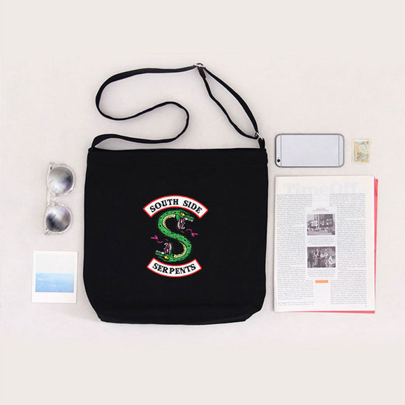 Riverdale Daily Book Bags Cross Shoulder Canvas Bags