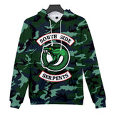 Riverdale Southside Serpent Casual Hoodies