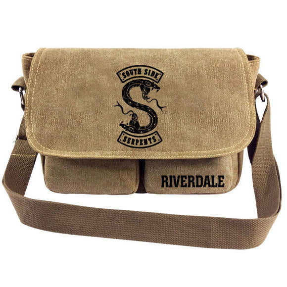 Riverdale Southside Serpents Canvas Shoulder Bag