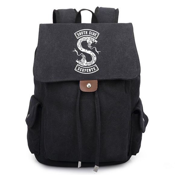 Riverdale Southside Serpents Teenager  Youth Fashion Backpack School  Backpack