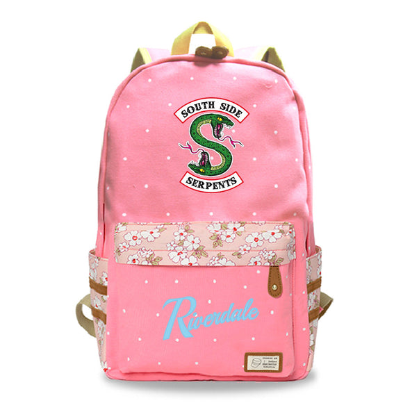 Riverdale Southside Serpents Teens Youth Fashion Backpack School Bag