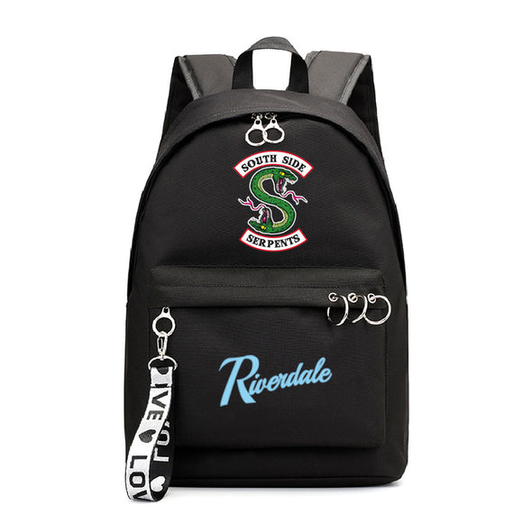 Riverdale Southside Serpents  Youth School Backpack Book Bag