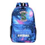 Riverdale Southside Serpents  Youth School Backpack Canvas Book Bag