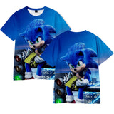 Hot Fashion Sonic The Hedgehog 3D Print T-shirt
