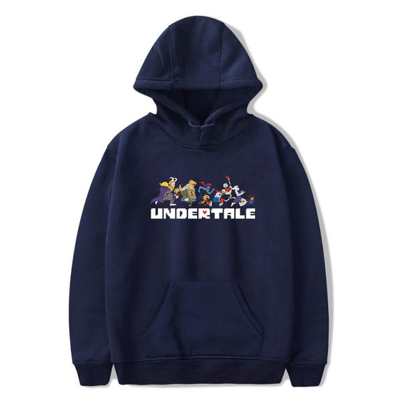 Undertale Pull Over Hoodies Casual Sweatshirt For Adults
