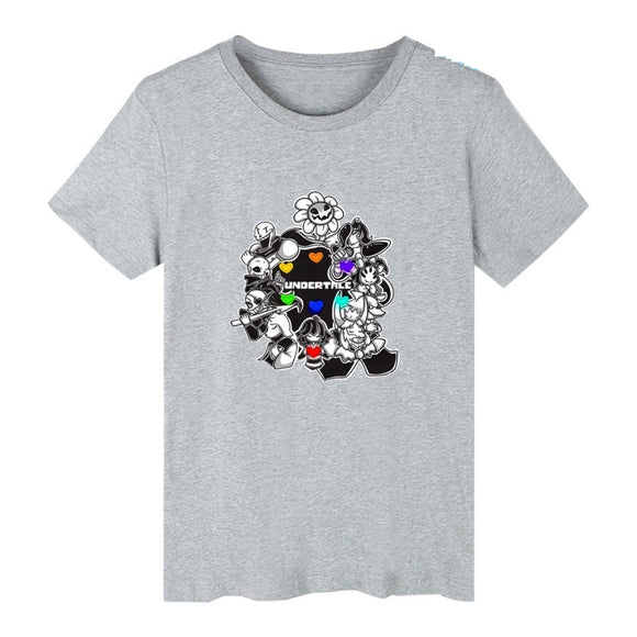 Undertale Unisex Short Sleeves Shirt