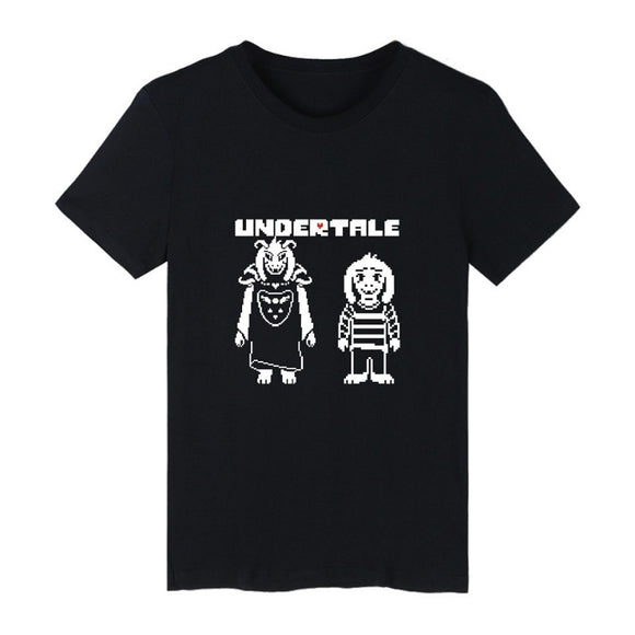 Undertale Unisex Short Sleeves Polyester Shirt
