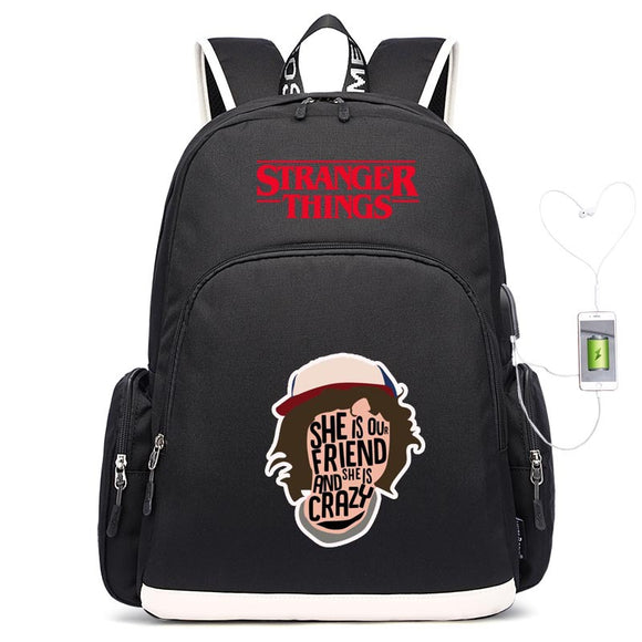 Stranger Things Fashion Youth Adults Backpack