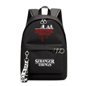 Stranger Things Unisex Canvas Fashion School Backpack