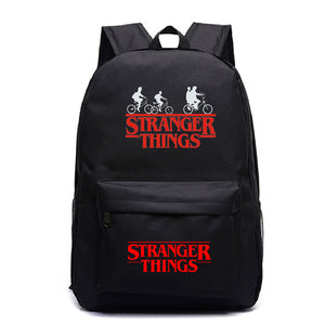 Stranger Things Teens School Backpack Book Bags