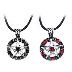 Supernatural Necklace Jewelry Dean Winchester Star Necklace Pendants
