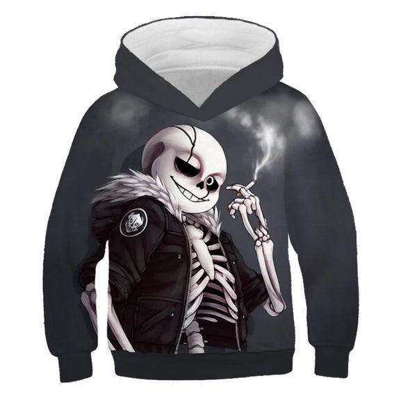 Undertale Kids Unisex 3D Print Hoodie For Kids