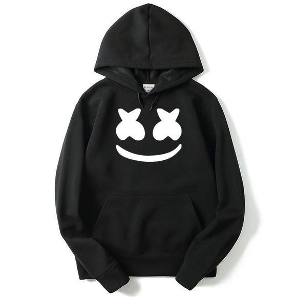Unisex Youth Marshmello Sweatshirts Casual Marshmello 3D Print Hoodies