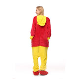 Adult Animal Onesis Pajamas Winnie-the-Pooh Kigurumi Halloween Cosplay Costume For Men&Women