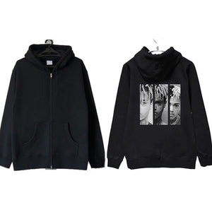 Xxxtentacion Oversize Zipper Hoodies Jacket
