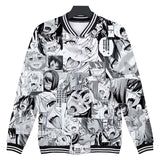 Cute Ahegao Hoodies Funny Ahegao Face Jacket