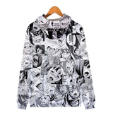 Unisex 3D Ahego Hoodies Sweatshirt Pullovers Tracksuit Zip-up Jacket